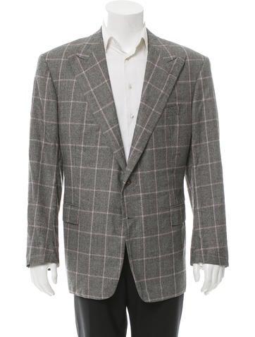 Ralph Lauren Purple Label Wool & Cashmere-Blend Blazer w/ Tags None