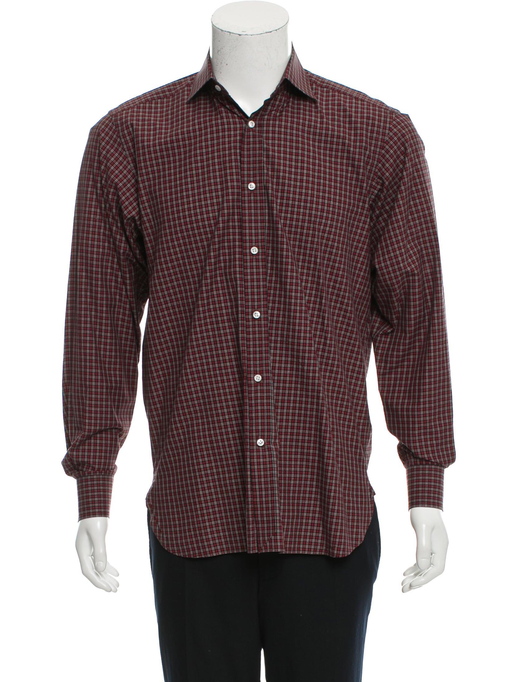 Ralph lauren purple label plaid button up shirt clothing for Lauren ralph lauren mens dress shirts