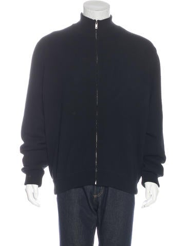 Ralph Lauren Purple Label Mock Neck Cashmere Sweater None
