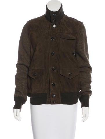 Ralph Lauren Purple Label Cashmere Knit Jacket None