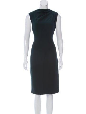 Ralph Lauren Purple Label Silk Midi Dress None