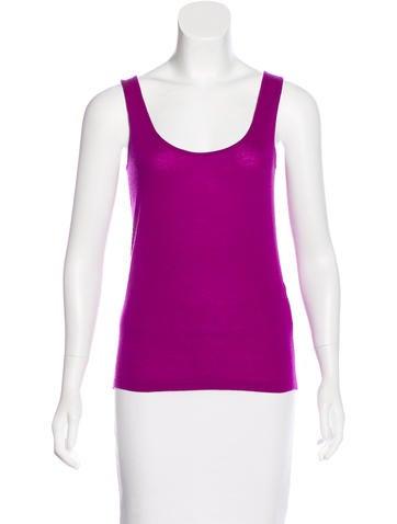 Ralph Lauren Purple Label Cashmere Sleeveless Top w/ Tags None