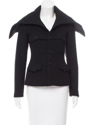Ralph Lauren Purple Label Cashmere & Wool-Blend Short Coat None