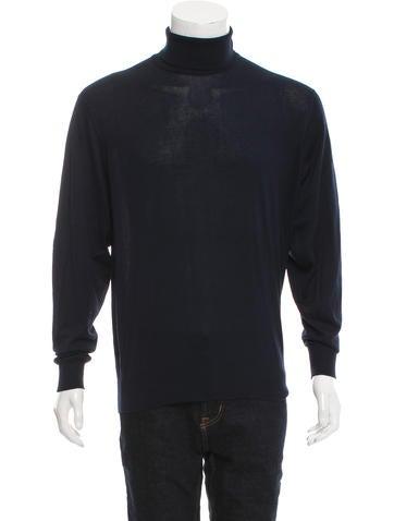 Ralph Lauren Purple Label Long Sleeve Turtleneck Sweater None