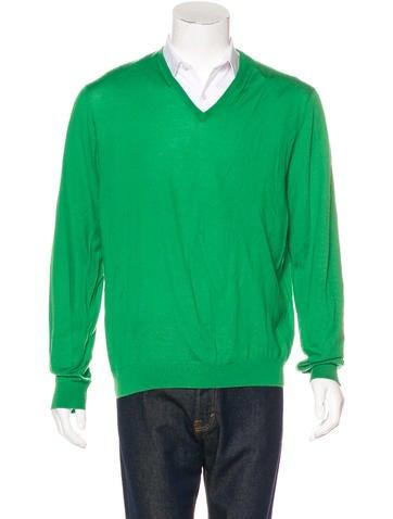 Ralph Lauren Purple Label Cashmere V-Neck Sweater None