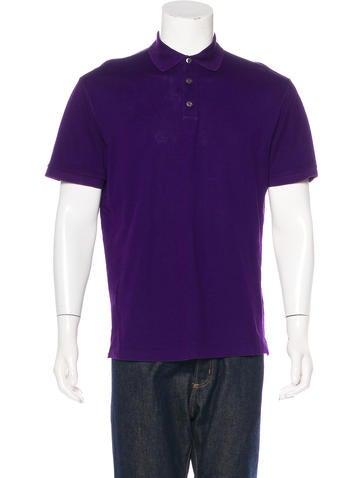 Ralph Lauren Purple Label Piqué Polo Shirt None