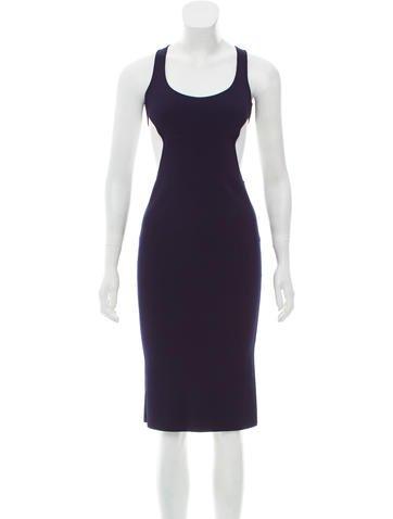 Ralph Lauren Purple Label Spring 2016 Cutout Dress None