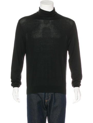 Ralph Lauren Purple Label Cashmere Turtleneck Sweater None