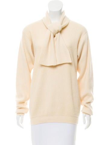 Ralph Lauren Purple Label Rib Knit Cashmere Sweater None