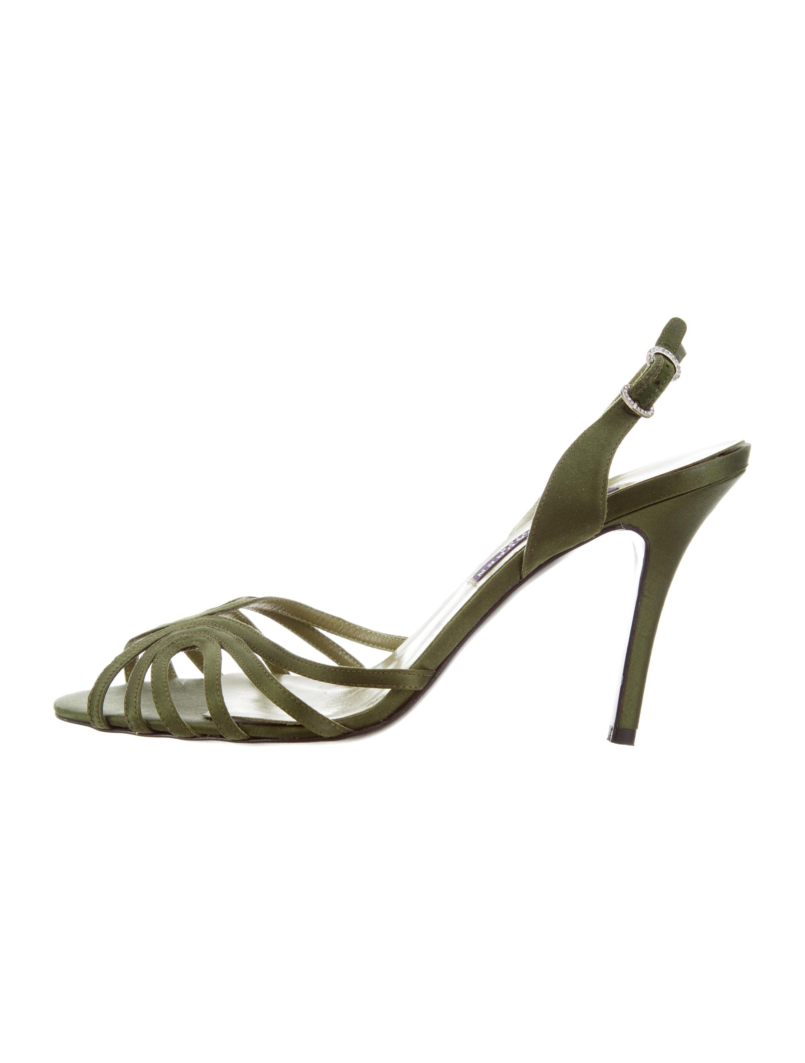 Ralph Lauren Purple Label Satin Multistrap Sandals best seller online original cheap online buy cheap pictures KIkrOMBH