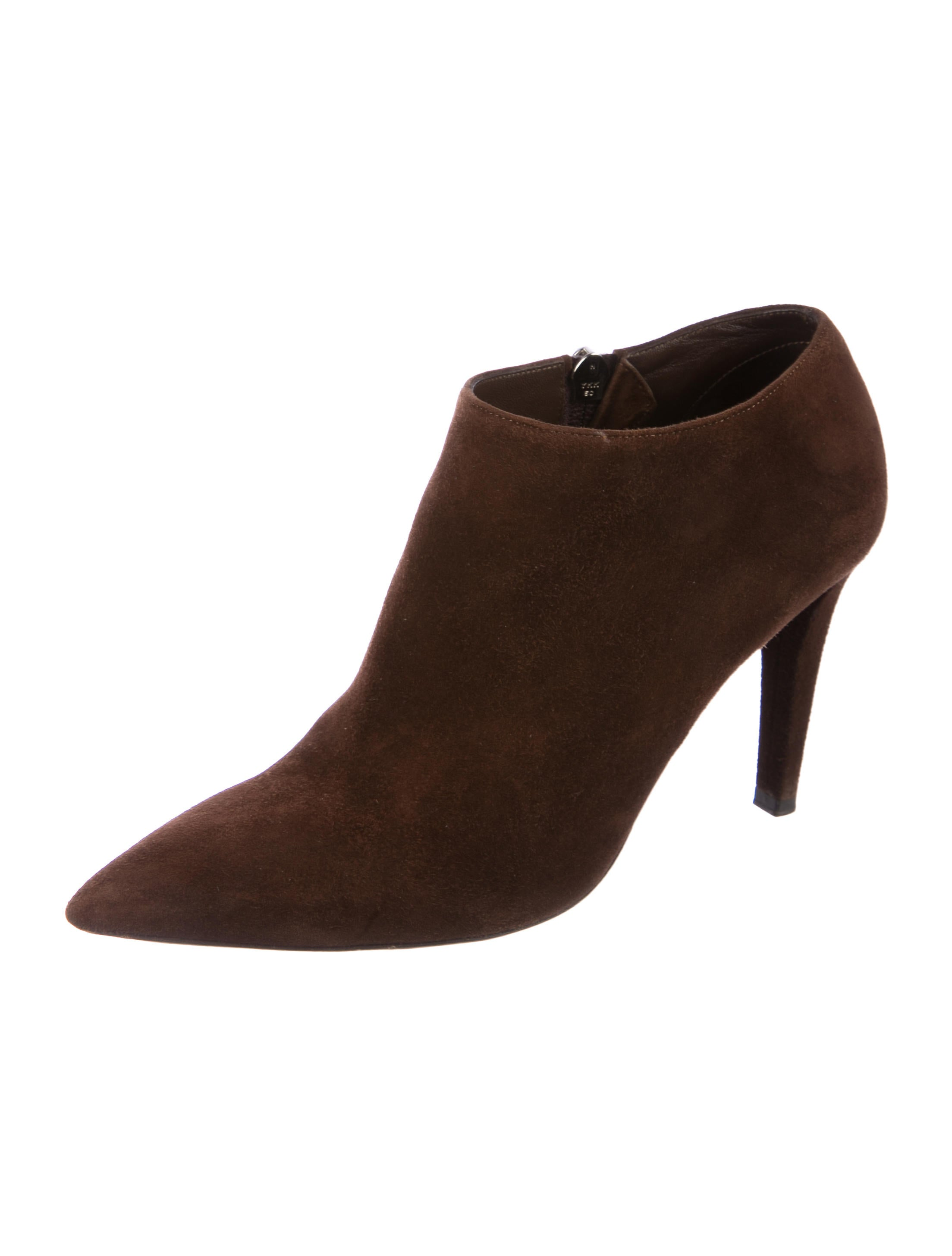 discount really Ralph Lauren Purple Label Suede Pointed-Toe Boots sale best sale sWiF49wSW