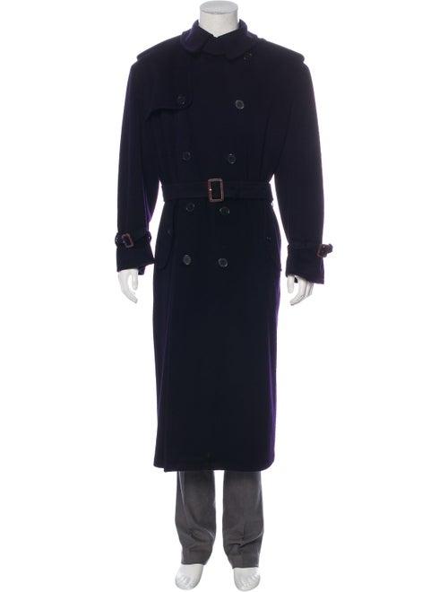 Ralph Lauren Purple Label Cashmere Trench Coat nav