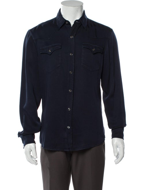 Ralph Lauren Purple Label Long Sleeve Shirt Purple