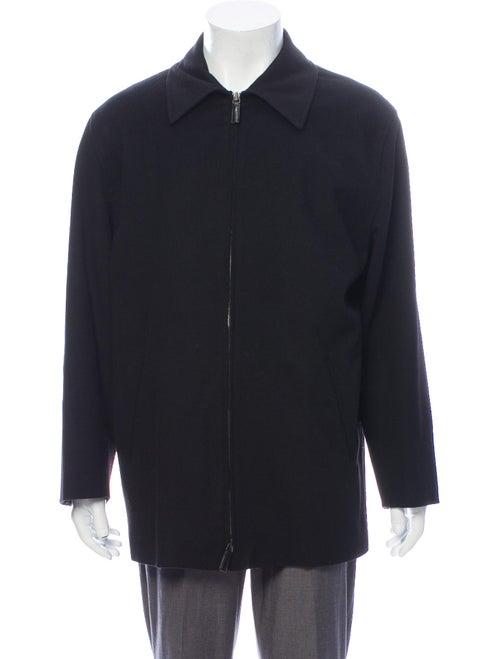 Ralph Lauren Purple Label Wool Jacket Purple