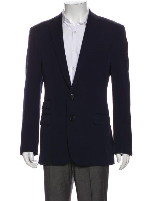 Ralph Lauren Purple Label Wool Blazer Purple