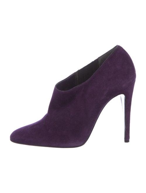 Ralph Lauren Purple Label Suede Boots Purple