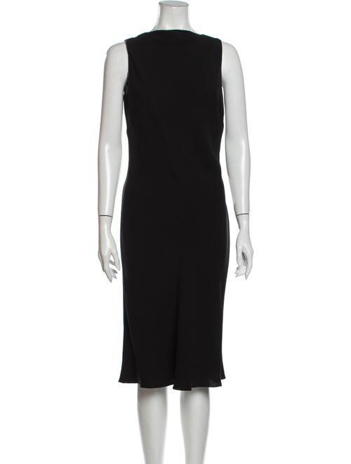 Ralph Lauren Purple Label Silk Knee-Length Dress P