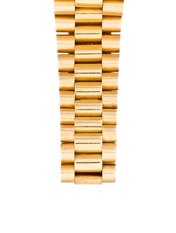 Datejust President 18K Yellow Gold Diamond Watch