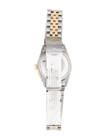 Two-Tone Thunderbird Datejust Watch 16000