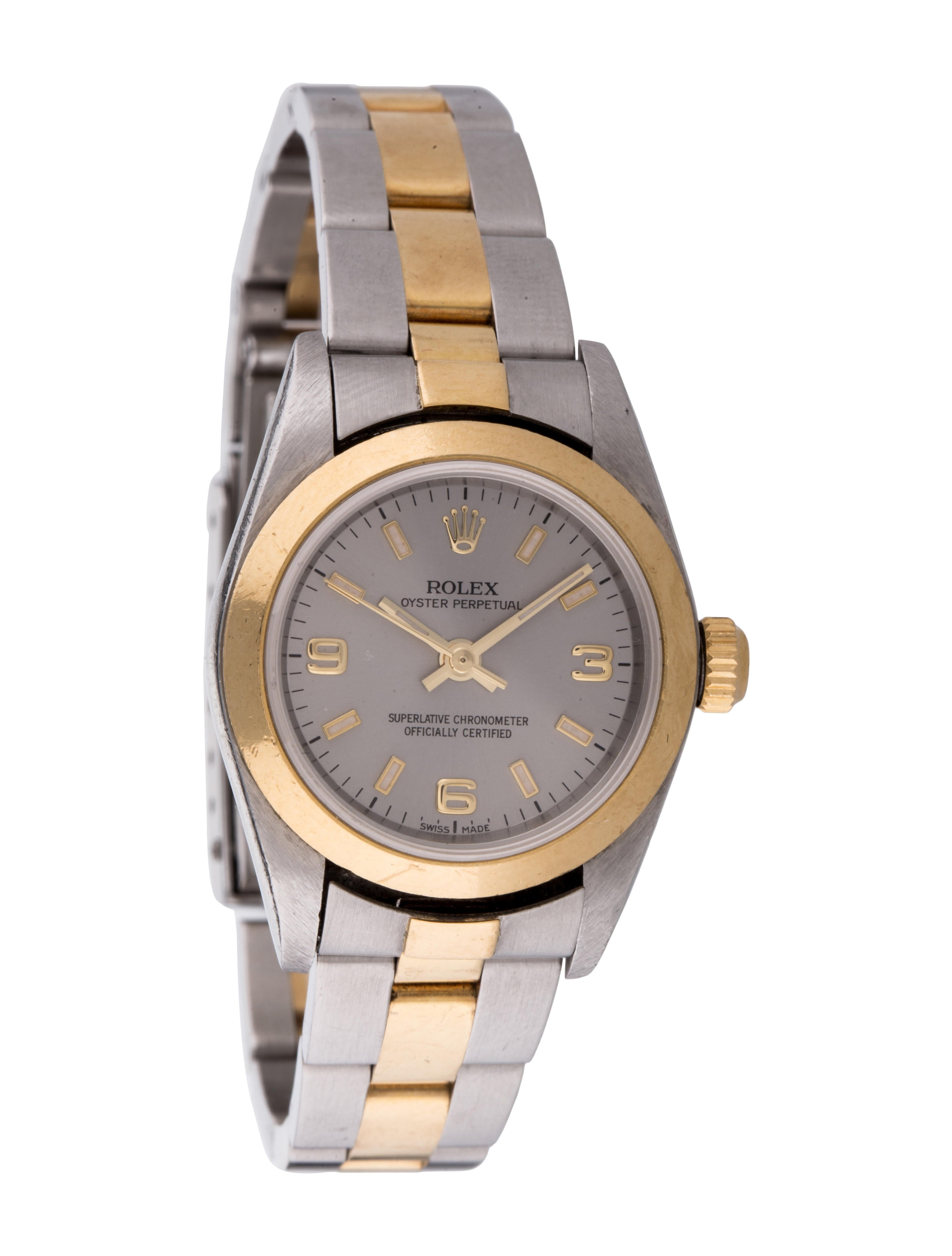 Rolex Lady Oyster Perpetual Watch 76183 Bracelet Rlx21326 The