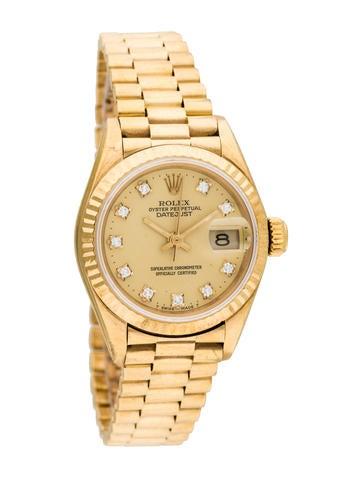 Rolex Datejust President Watch!