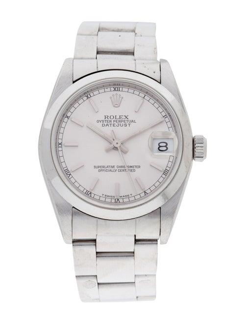 Rolex Datejust Watch silver