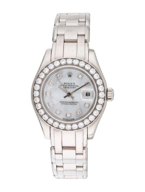 Rolex Pearlmaster Watch White