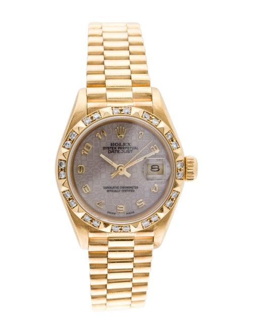 Rolex Datejust Watch yellow