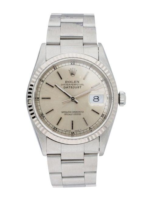 Rolex Datejust Watch White