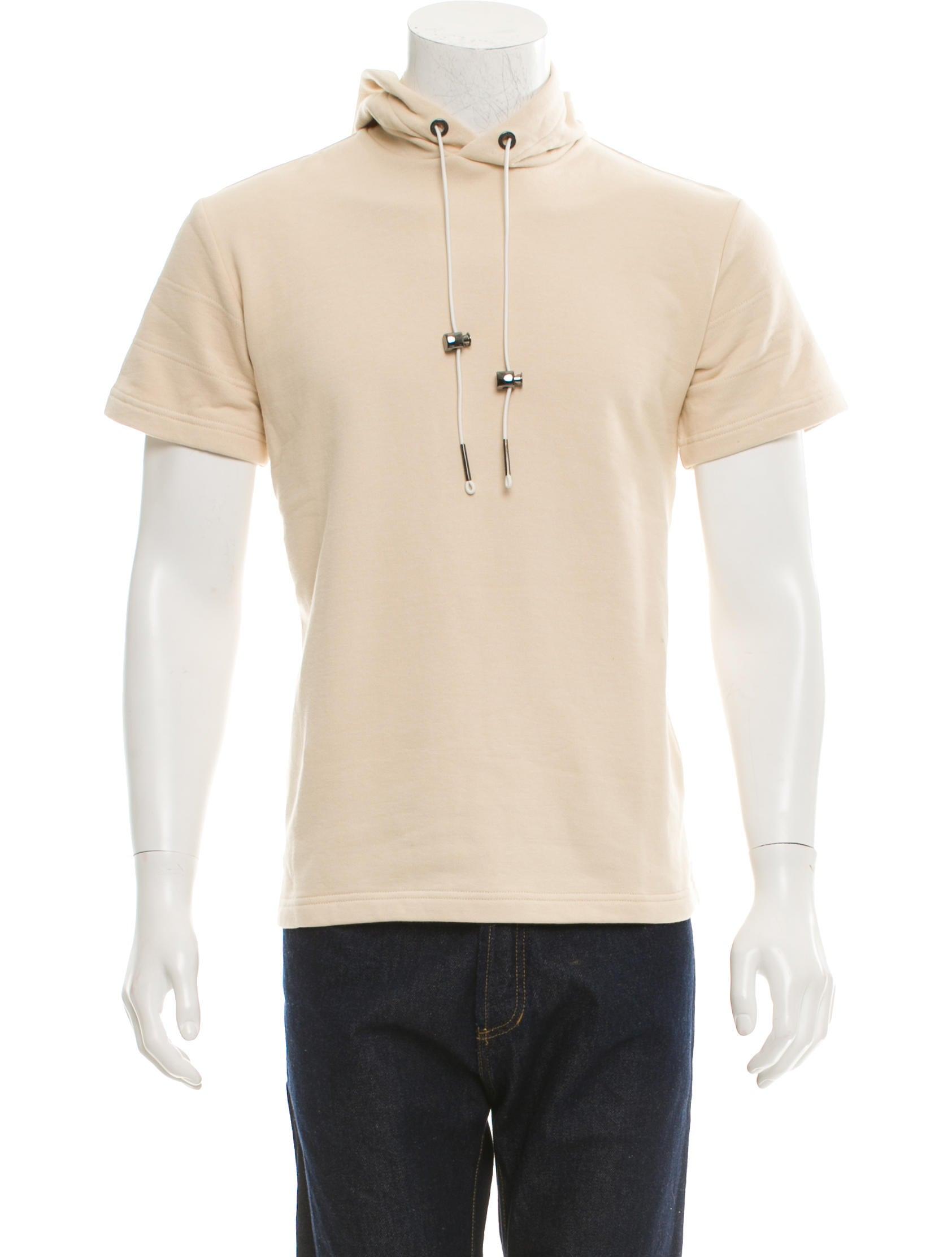 Rochambeau Hooded Short Sleeve Sweatshirt w/ Tags - Clothing ...