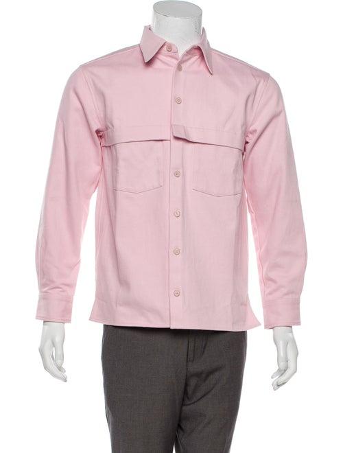 Rochambeau 2019 Denim Shirt Jacket w/ Tags pink