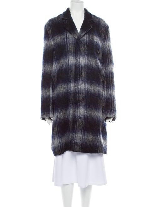 Rochambeau Striped Coat Blue