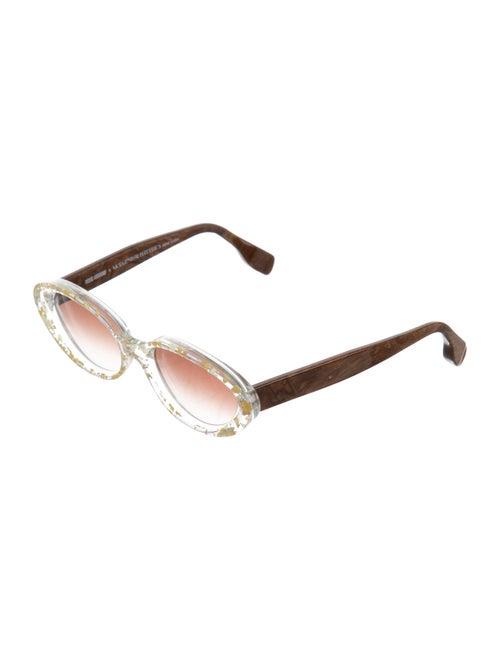 4a7841f988 Rosie Assoulin x Morgenthal Frederics Jawbreaker Narrow Sunglasses ...