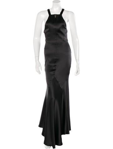 Roberto Cavalli Silk Evening Dress None