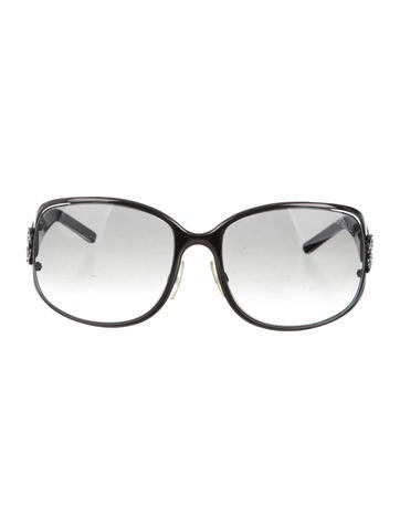 Roberto Cavalli Oversize Logo Sunglasses