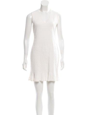 Roberto Cavalli Jacquard Mini Dress None