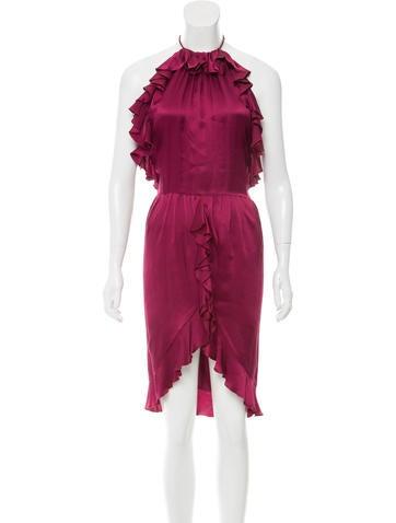 Roberto Cavalli Silk Midi Dress w/ Tags None