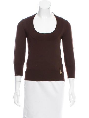 Roberto Cavalli Long Sleeve Wool Sweater None