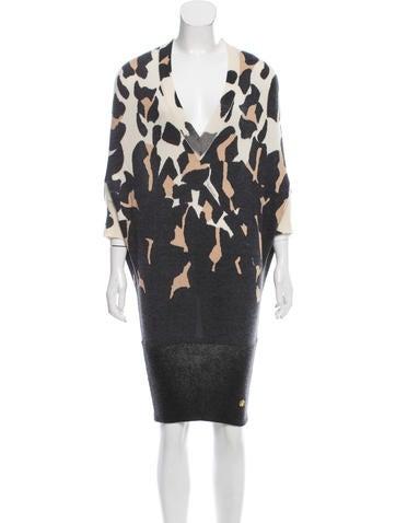 Roberto Cavalli Cashmere Sweater Dress None