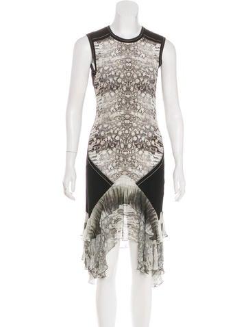 Roberto Cavalli Sheath Midi Dress None