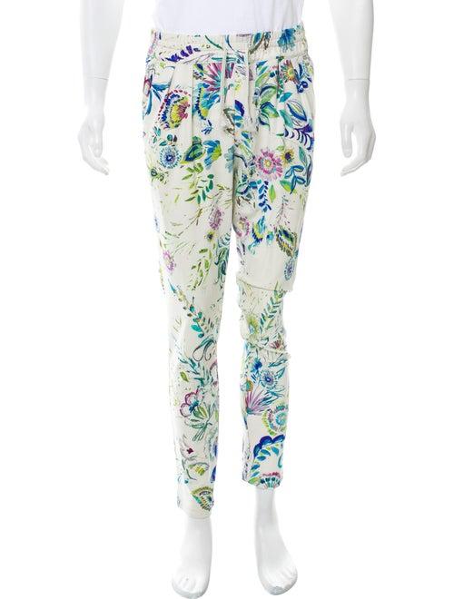 Roberto Cavalli Floral Print Lounge Pants multicol