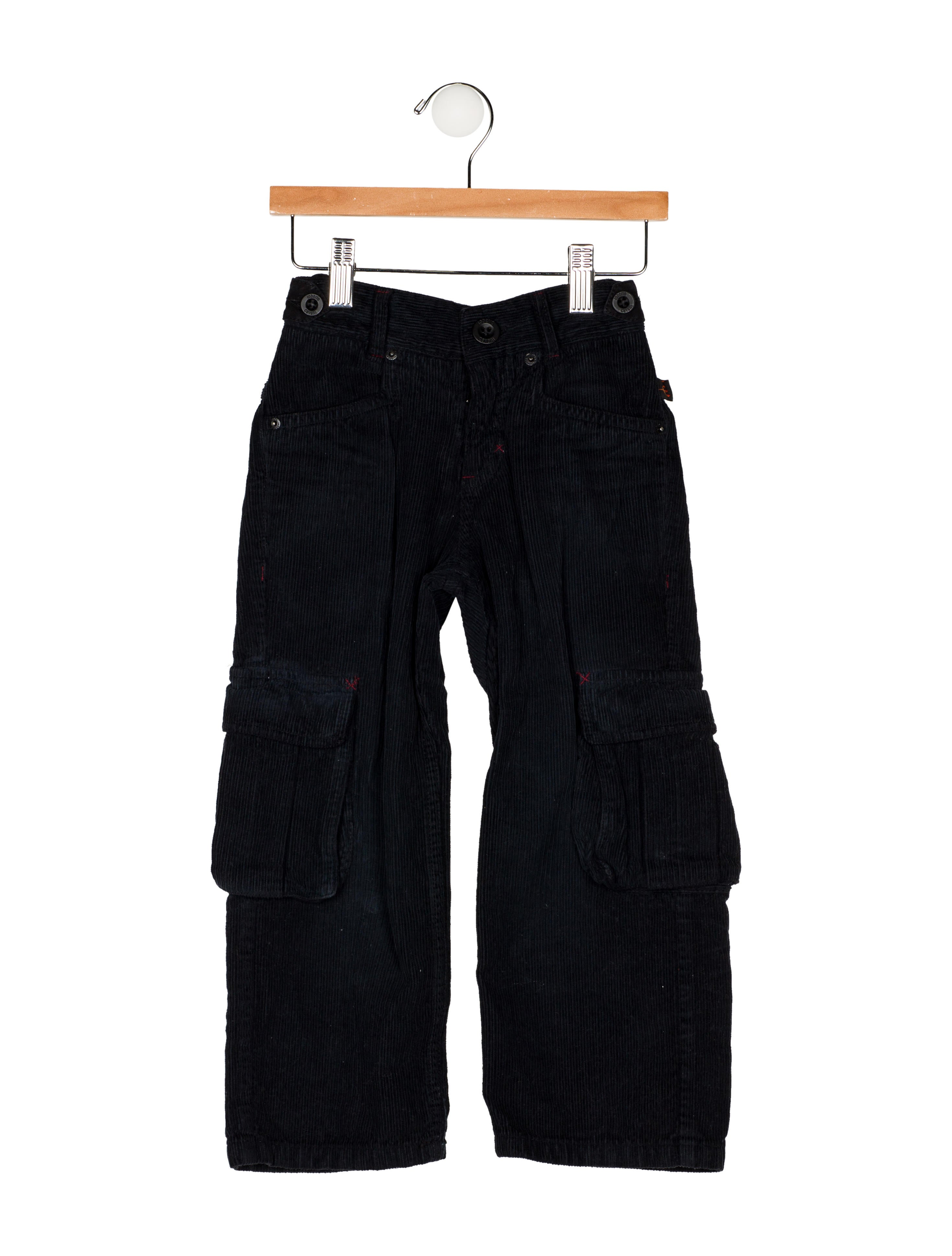 11829a4445 Roberto Cavalli Boys  Corduroy Straight-Leg Pants - Boys - ROB57624 ...