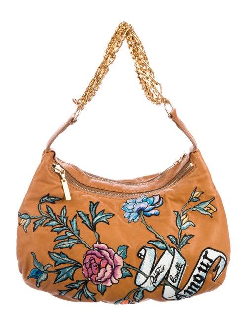 beda929c54 Roberto Cavalli Embroidered Chain Bag - Handbags - ROB61168