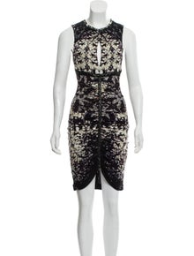 51dfddf17c45 Roberto Cavalli. Printed Knee-Length Dress w/ Tags