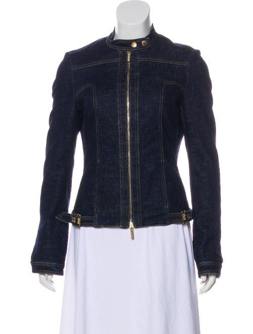 536f698b Roberto Cavalli Denim Zip-Up Jacket - Clothing - ROB66210 | The RealReal