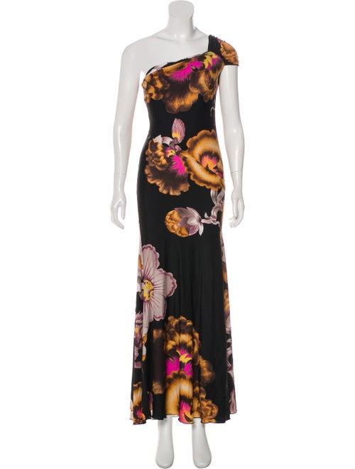 Roberto Cavalli Embellished Jersey Dress Black