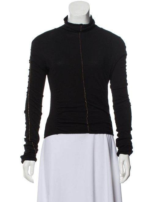 Roberto Cavalli Long Sleeve Turtleneck Black