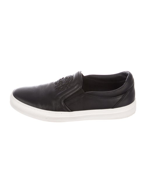 Roberto Cavalli Leather Sneakers Black