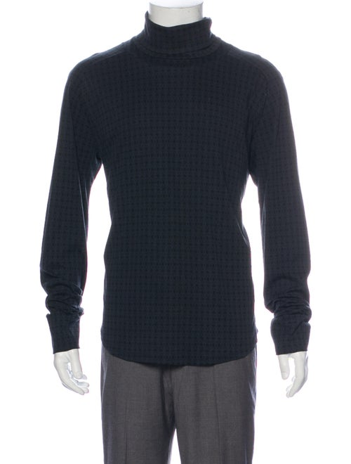 Roberto Cavalli Turtleneck Long Sleeve Pullover Bl
