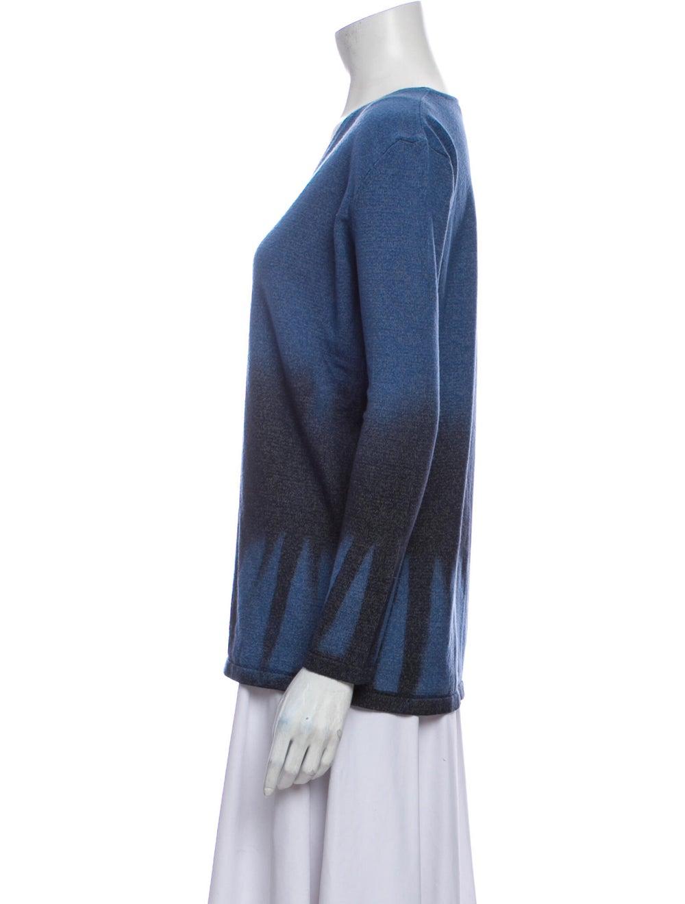 Roberto Cavalli Wool Tie-Dye Print Sweater Wool - image 2